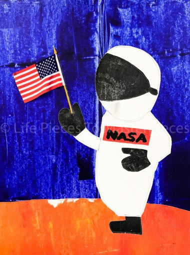 """""""Space Walk"""" Accepted to 2018 Black Creativity Juried Art Exhibition"""