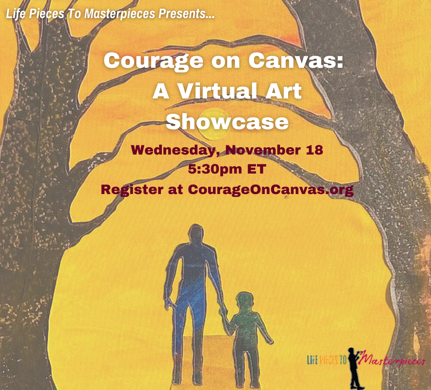 Don't Forget! Courage on Canvas TONIGHT at 5:30
